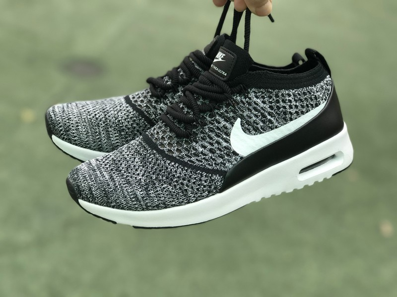 73553ebe46 Nike Air Max Thea Ultra Flyknit 87 Black/White 881175-001 Running Shoes