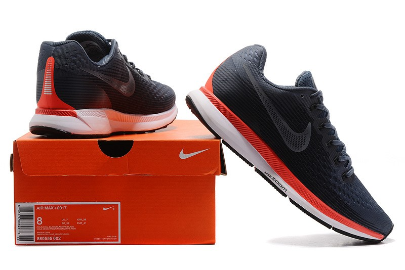 51fd47d058b00 coupon code for popular nike air zoom pegasus 34 mens running shoes 880560  403 black red