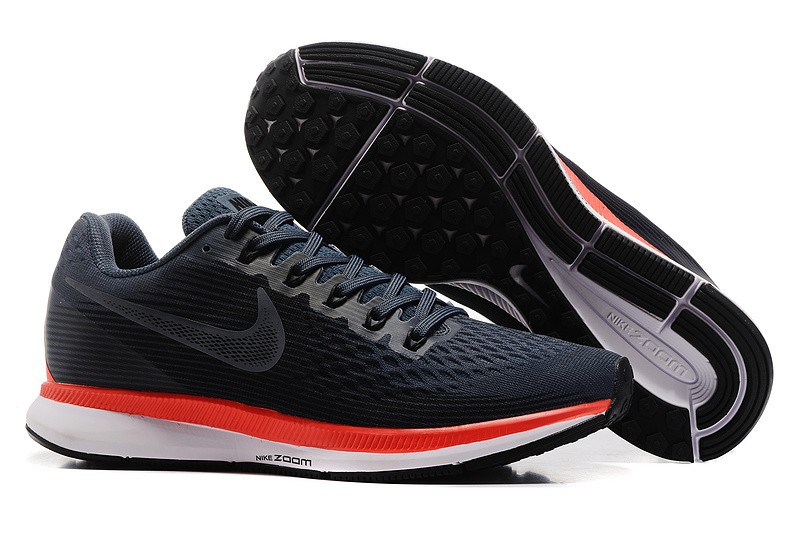 best website 36b0e 0334d Popular Nike Air Zoom Pegasus 34 Men's Running Shoes 880560-403 Black/Red