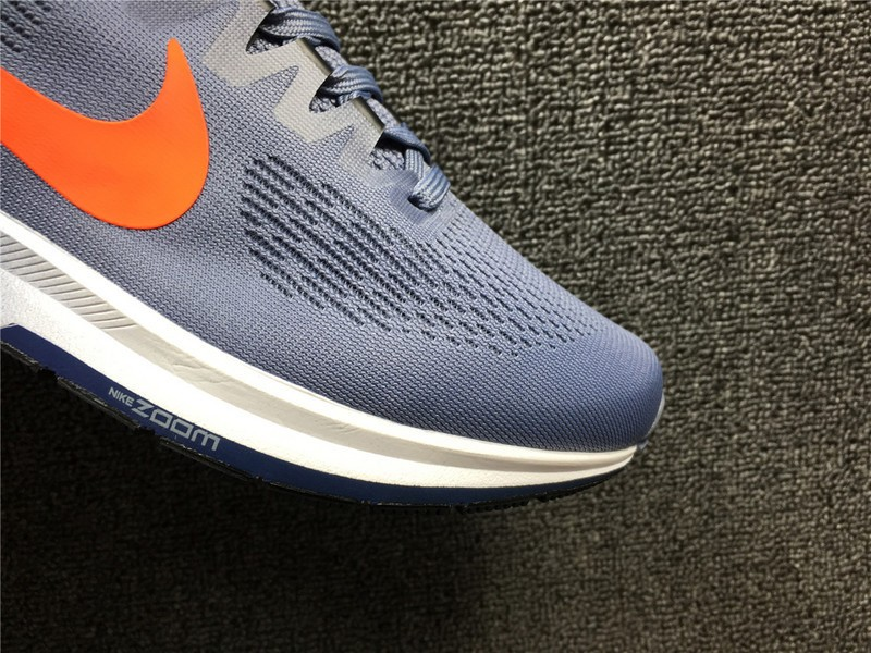 cfc14322e4cd Stylish Nike Air Zoom Structure 21 Dark Sky Blue Crimson 904695-406 Running  Shoes