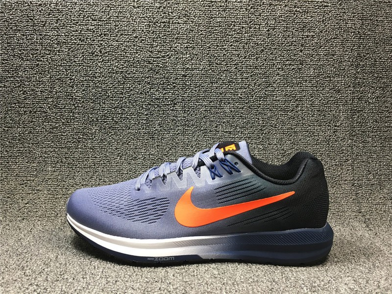 sale retailer 984a6 46d95 Stylish Nike Air Zoom Structure 21 Dark Sky Blue Crimson 904695-406 Running  Shoes