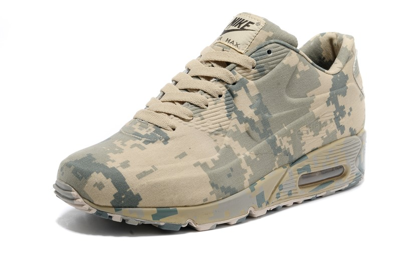 a1f40a8cdc Top Quality Nike Air Max 90 VT Camo/Army Green Unisex Trainers Running Shoes