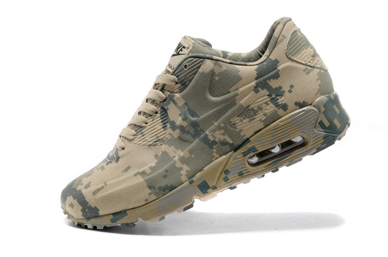 bas prix fd396 d4d6f Top Quality Nike Air Max 90 VT Camo/Army Green Unisex Trainers Running Shoes