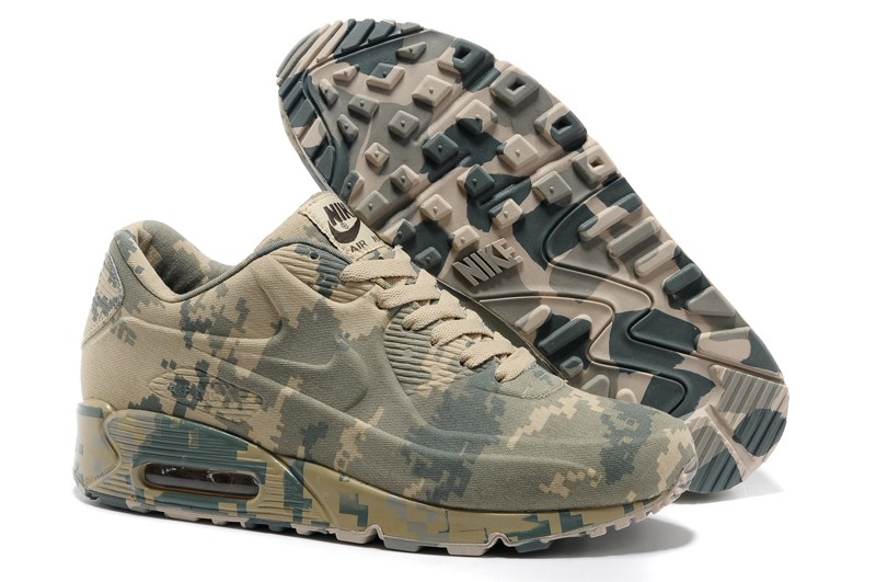 fefa12bc9b Top Quality Nike Air Max 90 VT Camo/Army Green Unisex Trainers ...