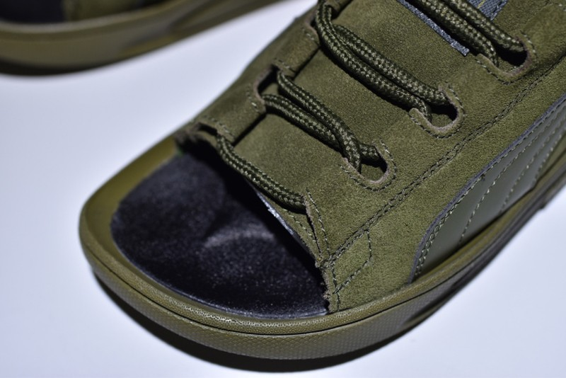 2018 Latest Style Puma Suede Classic Sandals Army Green 352634-03 ... 6934bd3f2