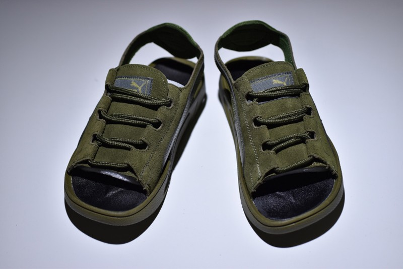 2018 Latest Style Puma Suede Classic Sandals Army Green 352634-03 For Sale 58abae17e