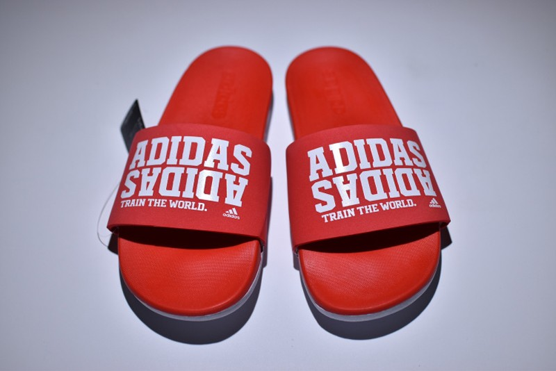 Adidas Adilette CF MONO Red/White AQ4935 Sandals For Sale | nmd r1 ...