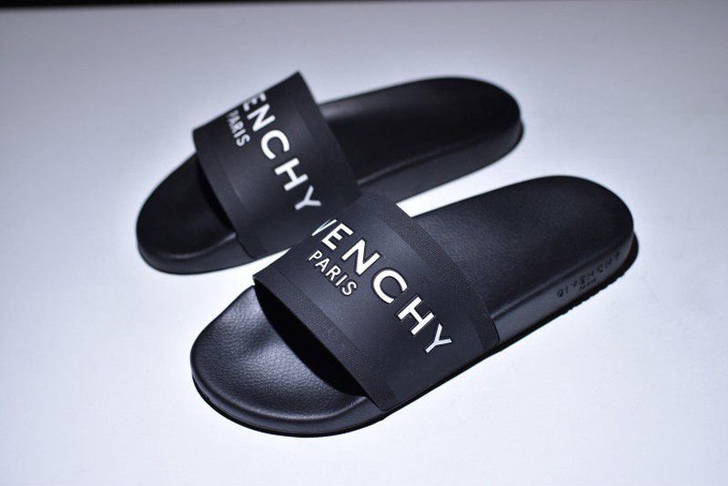 f46e1f03c4ab Givenchy Paris Logo Mens-Womens Black White Summer Wading Sandal Hot Sale