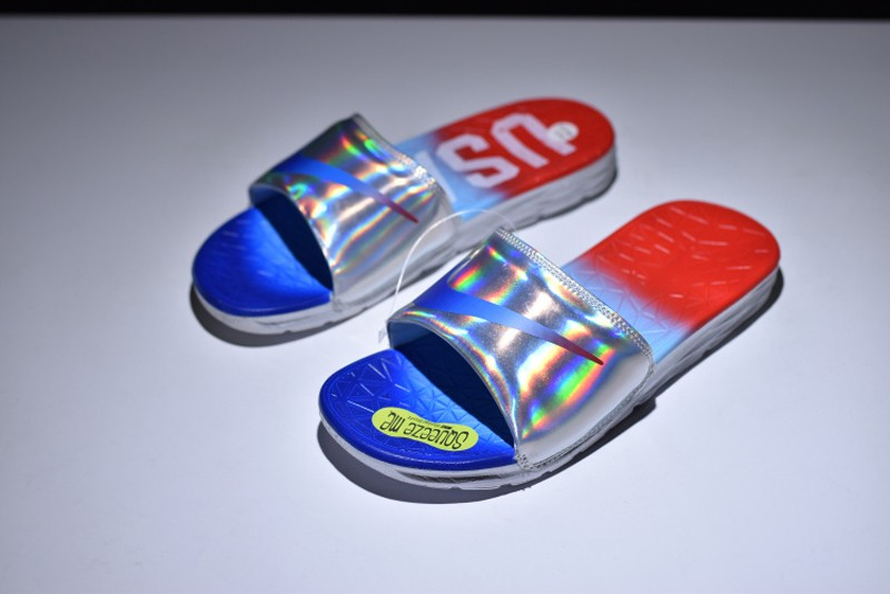 3ab73664000d New Style Nike Benassi Solarsoft Rio Olympics 835553-461 Blue Red ...