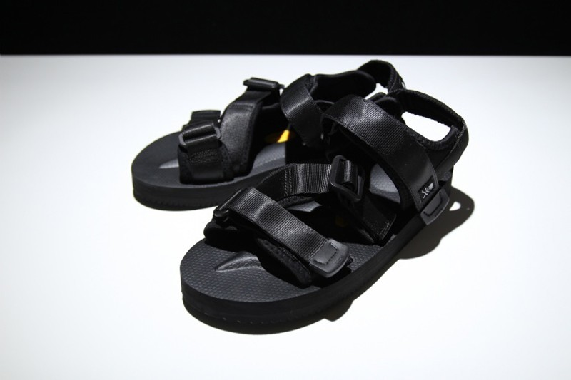 a2d432d4587 New Style SUICOKE Vibram Kisee-V Men s-Women s Function Nylon All Black  Sandal