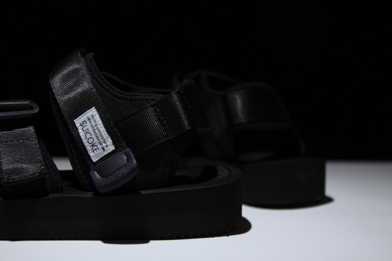 New Style SUICOKE Vibram Men s-Women s Function Nylon Creativity Black  Sandal 4ad6b2dda