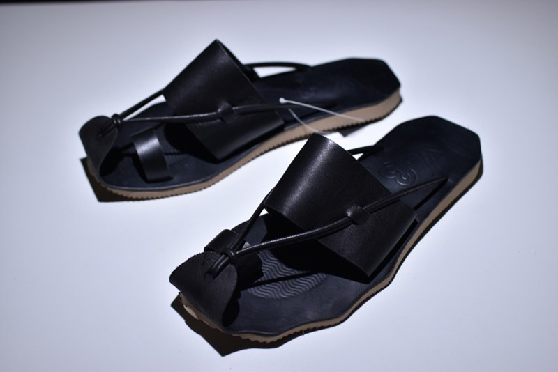 8017654b2 New This Year Y3 Black Men s Cowhide Summer Sandals Slippers For Sale