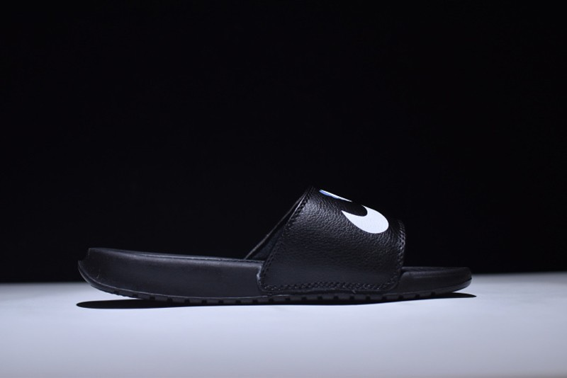 new product 8ee0a d71a3 Nike Benassi Solarsoft x Kaws 343880-012 Black Home Doll Slippers For Sale