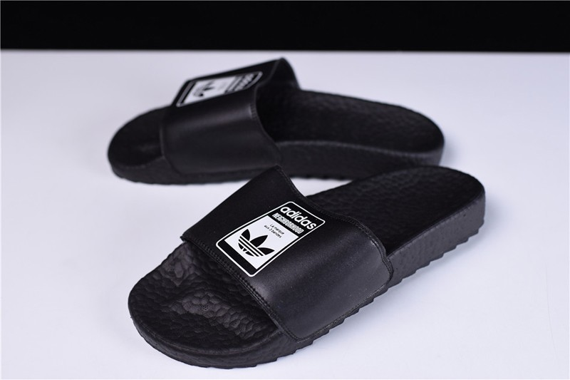 """Top Quality AD Adilette NeighBorhood Boost """"Black-White"""" S80770 Summer  Slippers a391ce61e5"""