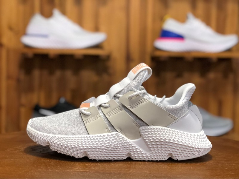 49c042ee4fb 2018 Adidas Originals Prophere CQ2542 Men s Triple White Sneakers ...