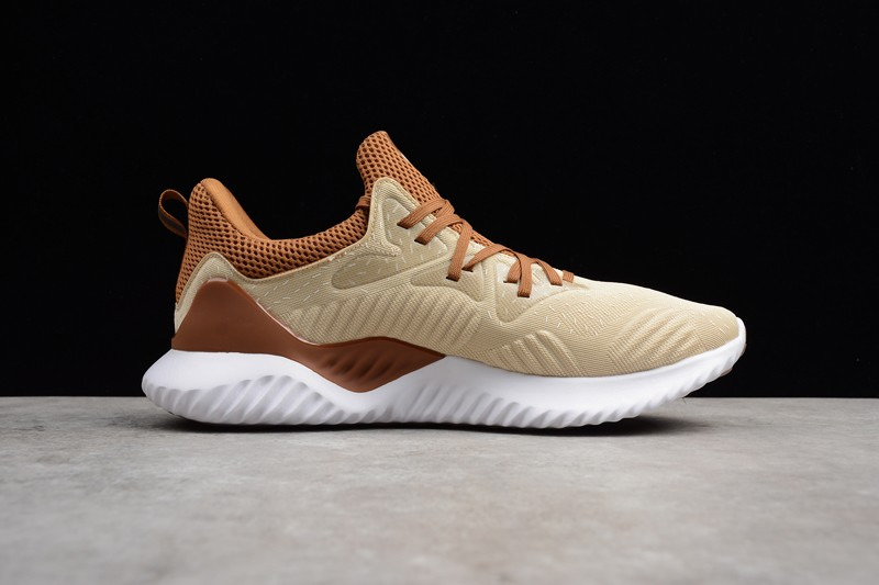 les ventes chaudes 03e5c 34862 Adidas Alphabounce Beyond Men's Running Shoes Beige/Yellow CG4763 In Stock