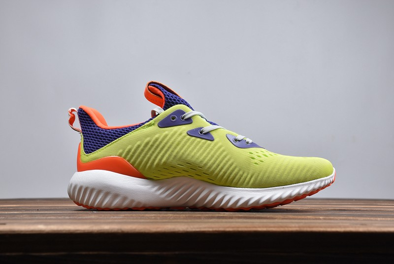 Adidas Alphabounce Yellow Color Men s Stylish Running Shoes CQ0303 ... 767d82cdb36