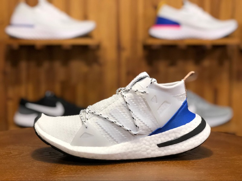 new concept 29843 f9817 Adidas Arkyn W Mens-Womens Running Shoes CQ2748 WhiteBlue Sneakers For  Sale