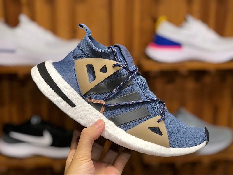 detailed look 5a41d 6fd58 ... The sale of shoes Adidas Arkyn W Mens-Womens Running Shoes DA9606  Moonlight BlueWhite Sneakers ...