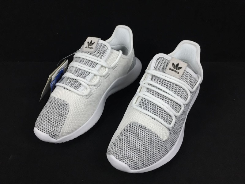 low priced dd959 a19d8 Adidas Originals Tubular Shadow Grey/White Knit Casual Shoes BB8941 In Stock