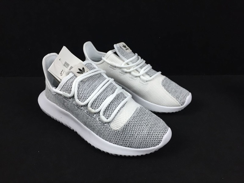 low priced 56092 f5d0e Adidas Originals Tubular Shadow Grey/White Knit Casual Shoes BB8941 In Stock