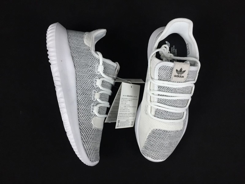 low priced 8561b 46567 Adidas Originals Tubular Shadow Grey/White Knit Casual Shoes BB8941 In Stock