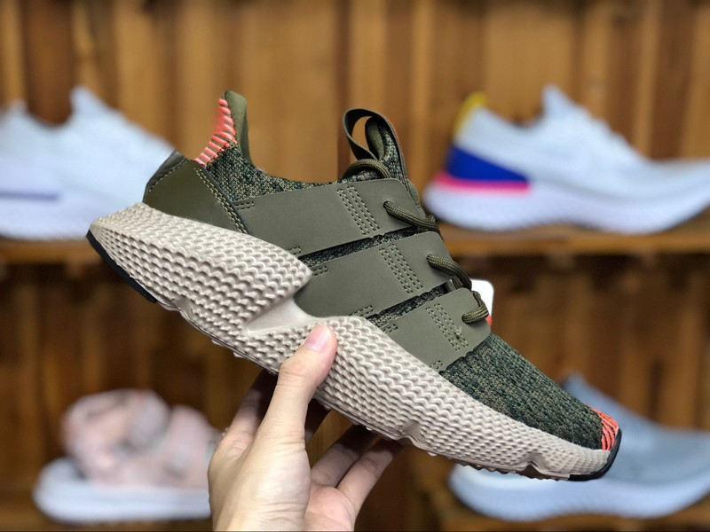 """Adidas Prophere CQ2127 """"Trace Olive-Solar Red"""" Mens Womens Running ..."""