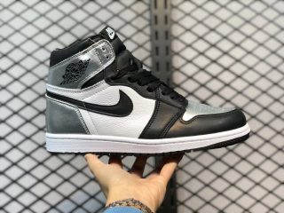 Air Jordan 1 High OG Black/Metallic Silver-White-Black CD0461-001