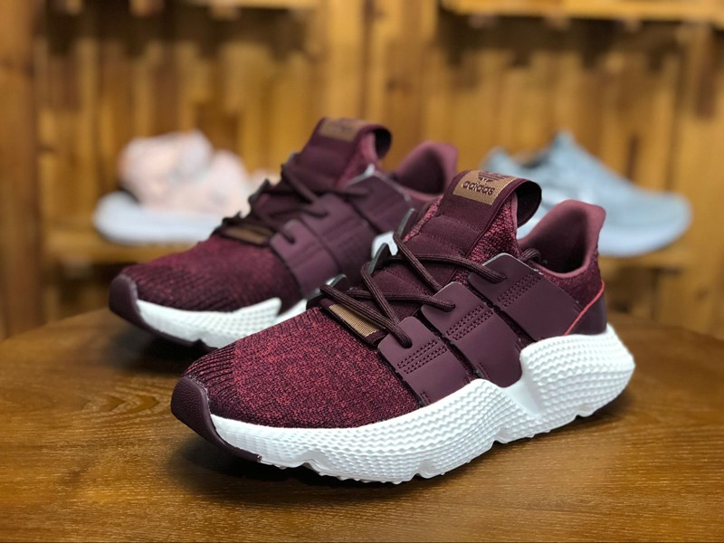hot sale online fbc64 ece95 Brand New AC8721 Adidas Prophere RedMaroonFtwr White Mens Womens Running  Shoes