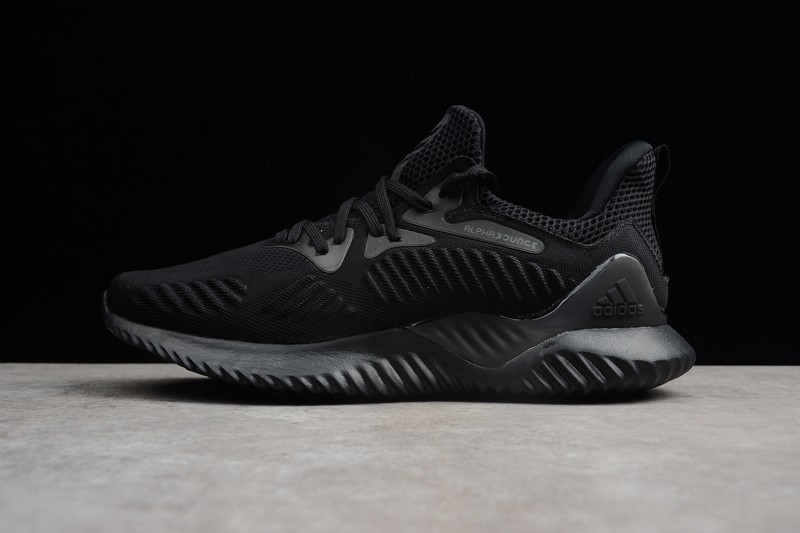 e6aa039d01398 Adidas Alphabounce Beyond Full Black AC8271 Men s Running Shoes Hot ...