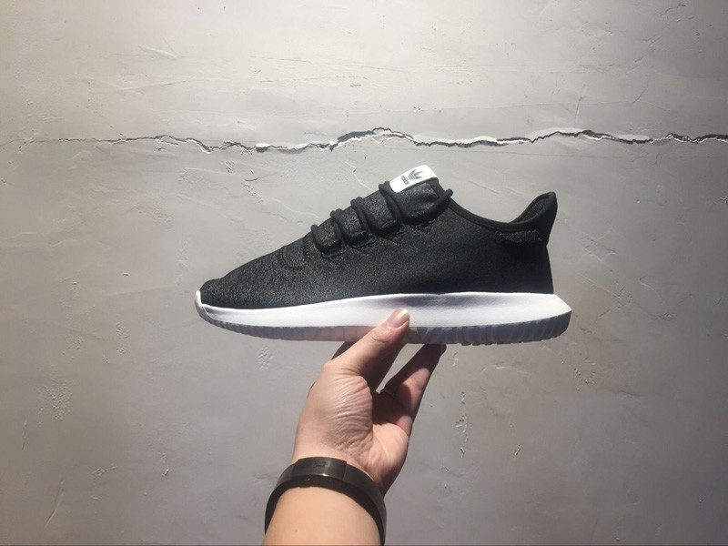 online store 885c6 185d7 Cheap Adidas Tubular Shadow BY2121 Grey/Black Canvas Upper Running Shoes