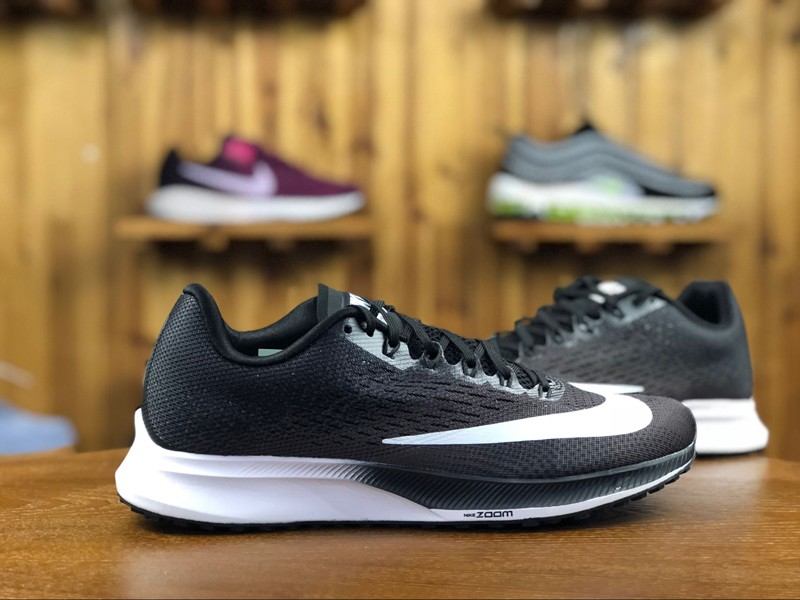 d636eaa97ef Classic Nike Air Zoom Elite 10 Black White Men s Breathable Running Shoes  ...