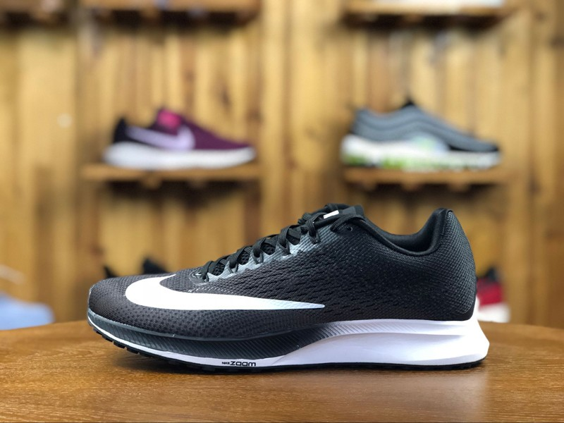 outlet store 41f7c 79552 Classic Nike Air Zoom Elite 10 Black/White Men's Breathable Running Shoes  924504-001