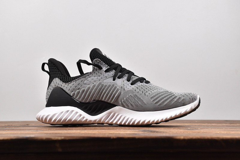 "27ba83ca7 Hot Selling Adidas Alphabounce Beyond Men s Running Trainers Shoes ""Grey- White"" DB1126"