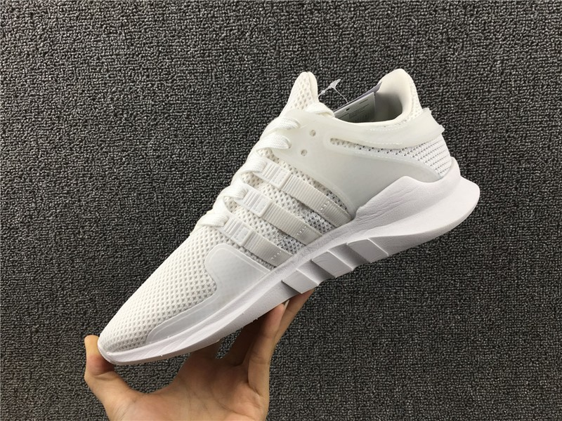 Hot Selling Adidas EQT Support ADV Triple White BA8322 Men's Running Shoes
