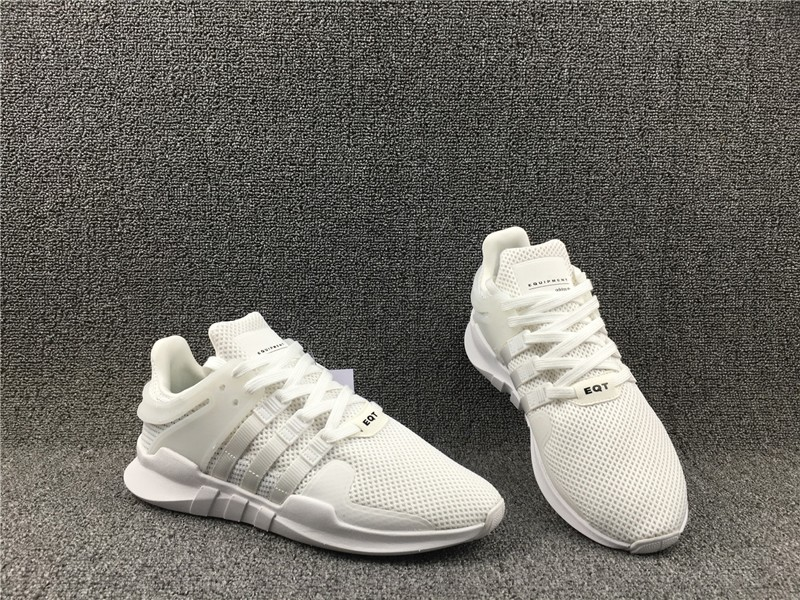 the latest 25d55 46c89 Hot Selling Adidas EQT Support ADV Triple White BA8322 Men's Running Shoes