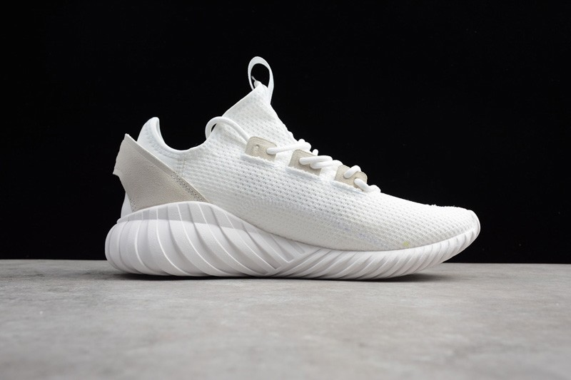 best loved f4f48 804f6 Most Popular Adidas Tubular Doom Sock Men's-Women's White Running Shoes  BY3566