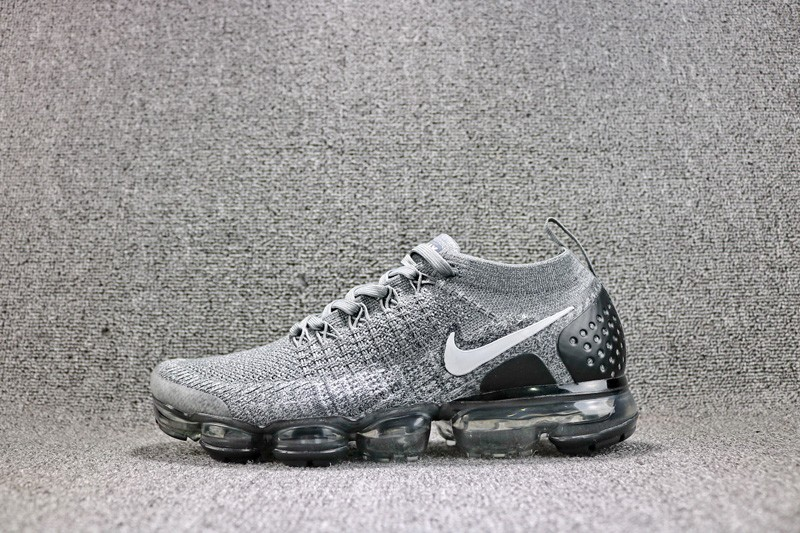 1e200800a797f New Arrival Nike Air VaporMax Flyknit Gray Black 942842-103 Men s Running  Shoes
