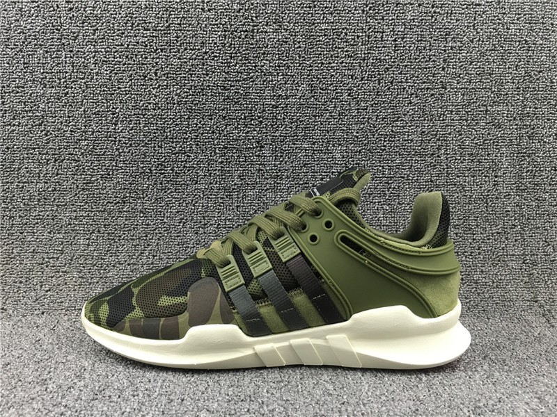 official photos f1ae1 e8387 New Release BB1307 Adidas EQT Support ADV Army Green/Camo Men's-Women's  Running Shoes