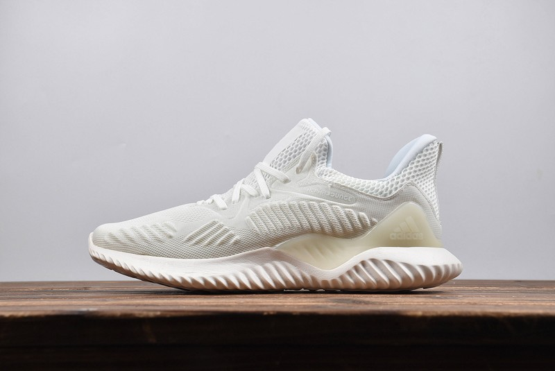 1335ca19cf7e New This Year Adidas Alphabounce Beyond White AC8274 Men s Running ...