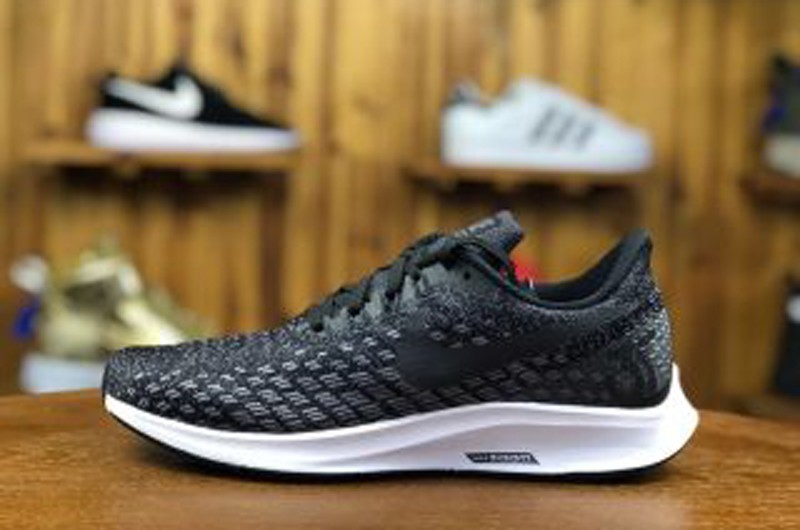 f8c90dfaa3cd2 Nike Air Zoom Pegasus 35 Black White Men s Breathable Running Shoes ...
