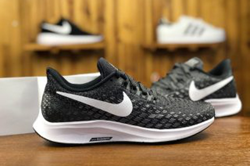 big sale 34ee2 a847b Nike Air Zoom Pegasus 35 Dark Grey Breathable Running Shoes 942851-001 For  Sale