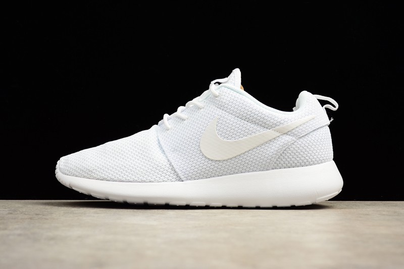 new style 874aa e7c8e Nike Roshe Run One Men's-Women's 511881-112 White 2018 Sport Running Shoes