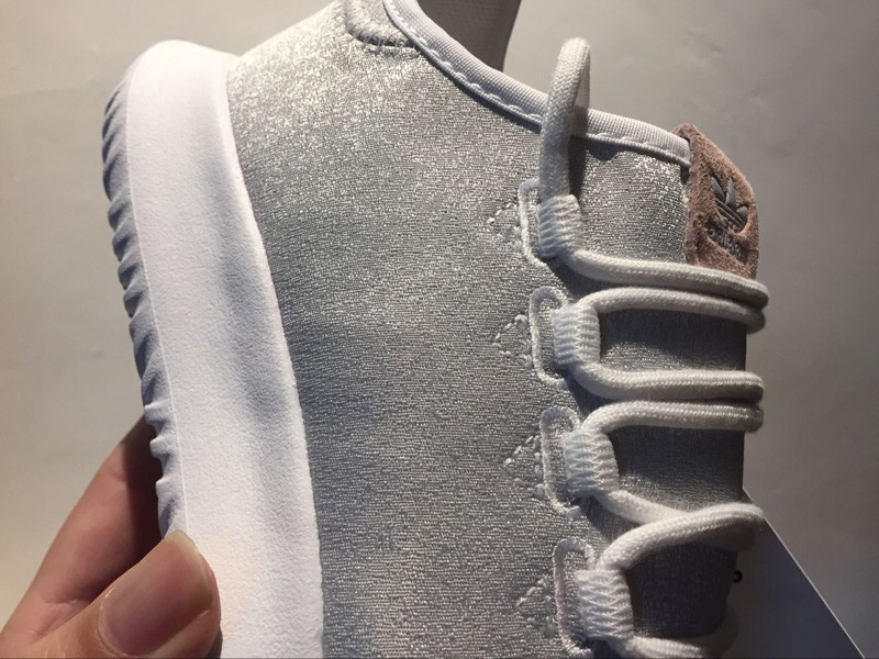 huge discount 24d72 2f1f4 Stylish Adidas Tubular Shadow BY9735 White/Grey Canvas Upper Running Shoes