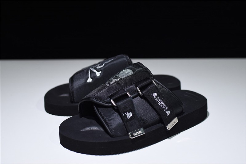 Suicoke Vibram Sandals Men s-Women s Black Summer Function Nylon Slippers 13c94d084