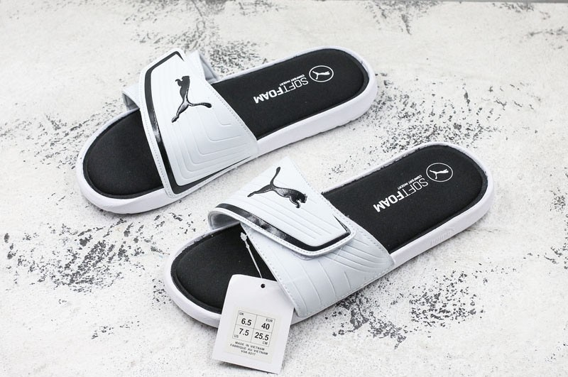 9c0e74ecfc09 2018 New Arrival Puma Starcat SoftFoam Sandals Neutral White Black ...