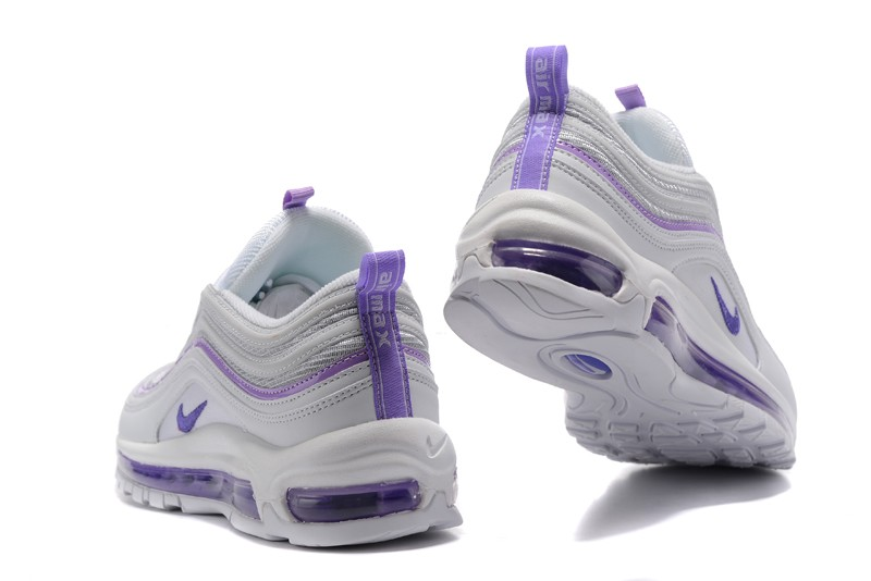 revista Fuera Catedral  2018 Nike Air Max 97 Women's Purple/White 313054-160 Fashion Sport Running  Shoes | Sneakers Big Sale