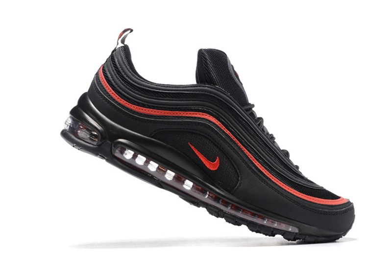 nike air max 97 red and black