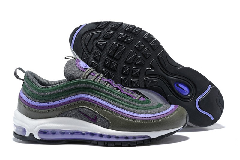 quality design 576df 87e27 Cheap Nike Air Max 97 Premium Wool Sequoia Velvet ...