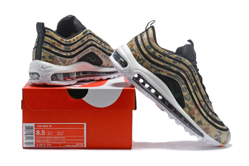 finest selection 8b4bd 38126 Latest Nike Air Max 97 Country Camo Men's German Camo Running Shoes  AJ2614-204
